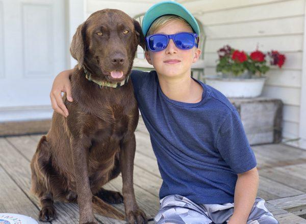 Calming Blue Sunglasses for Adults & Children | Farm to Health Organics