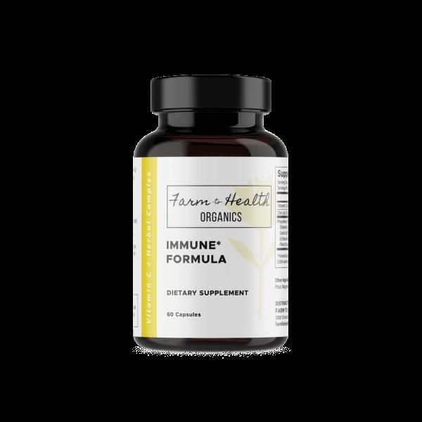 Immune Formula: Vitamin C & Herbal Complex