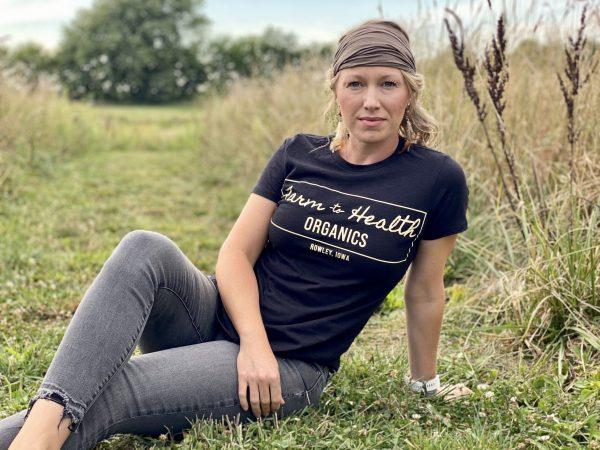 Farm to Health Organics Logo Tee