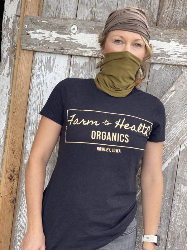 Antimicrobial Hemp Fabric Gaiter | Farm to Health Organics