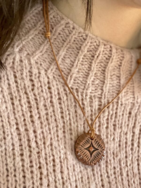 Calming Essential Oil Pendant: Tranquil Terracotta