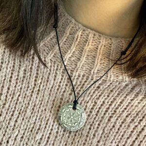 Calming Essential Oil Pendant: Mellow Mandala